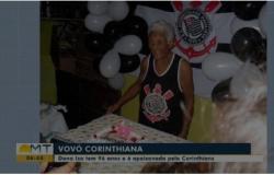 Família faz carreata de aniversário para idosa que completou 96 anos durante a pandemia da Covid-19 em MT