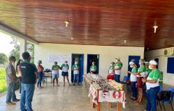 Reeducandos concluem capacitação de produção de alimentos com babaçu