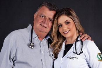 Ex-prefeito soube da morte da filha em grupo no WhatsApp