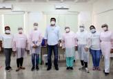 Várzea Grande vacina idosos de 65 anos acima e atende mais de 5 mil pessoas em três dias