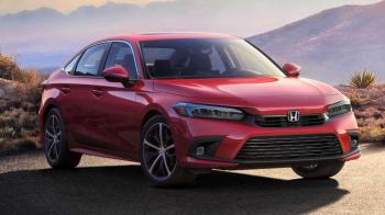 Novo Honda Civic 2022 aparece em 1ª foto oficial e estreará dia 28