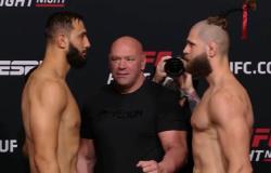 Combate entre Reyes e Prochazka lidera UFC Vegas 25, neste sábado; quatro brasileiros entram em ação