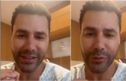 Rodrigo Sant'Anna tem alta após internação por covid-19: 'Queria agradecer a equipe do hospital'