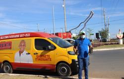 Dia mundial do meio ambiente, Presidente da Câmara de Cuiabá distribui mudas.