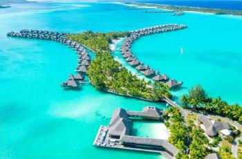 O resort mais romântico do mundo fica em Bora Bora; conheça