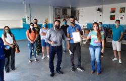 Deputado Claudinei e vereadora de Rondonópolis se reúnem com o secretário Alan Porto da Seduc