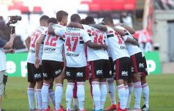Desatenção do São Paulo custa caro em goleada sofrida para o Flamengo