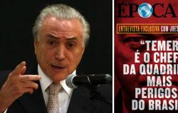 JOESLEY: TEMER É O CHEFE DA MAIOR E MAIS PERIGOSA QUADRILHA DO BRASIL