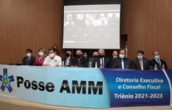 Pinheiro participa de posse na AMM e defende fortalecimento do municipalismo