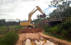 Governo inicia obras de recuperação da Baía de Chacororé