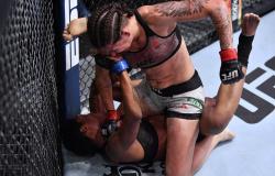 """Karol Rosa comemora boa fase no UFC e diz que sangue a motivou: """"Poderia sangrar até morrer"""""""