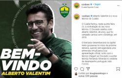 Alberto Valentim é o novo técnico do Cuiabá e comanda equipe na Série A