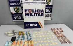 Polícia Militar encontra traficante em Várzea Grande com 67 porções de cocaína