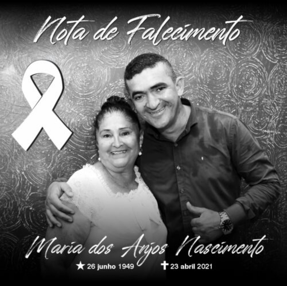 Morre mãe de deputado estadual e de vereador de Cuiabá vítima da Covid-19