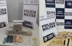 Rotam apreende 17 barras de maconha em Cuiabá e VG