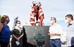 Escultura 'As Três Graças' é restaurada e evidencia o cuidado com o patrimônio cultural pela gestão Emanuel Pinheiro