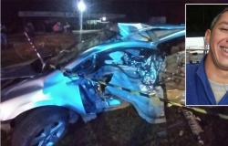 Homem perde o controle do carro, bate em pedra e morre em rodovia de MT