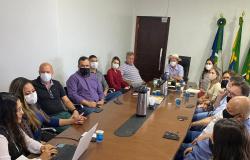 Prefeito reúne com secretários para definir equipamentos sociais para o Residencial Nico Baracat