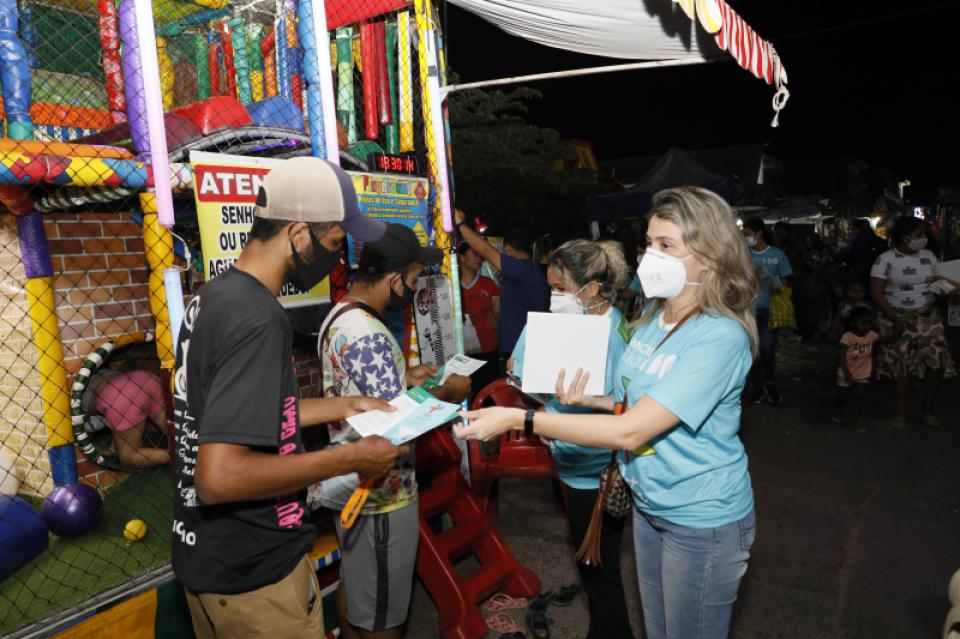 Assistência Social realiza blitz informativa sobre a erradicação do Trabalho Infantil no bairro Osmar Cabral