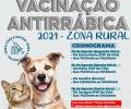 Vacinação antirrábica em cães e gatos começa dia 02 de agosto na zona rural