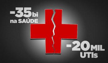 Corte de R$ 35 bi na Saúde causará perda de 20 mil leitos de UTI