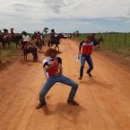 hauahuahauhauhauahhauhauahuahuahauhu1ª Cavalgada da Comitiva 'Firme na Traia'