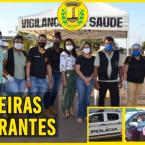 NOVA OLÍMPIA RETOMA BARREIRAS SANITÁRIAS ITINERANTES