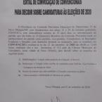 DEM, PSDB e PP realizam convenções na manhã deste sábado e vão lançar Zé e Rimer à reeleição