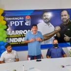 Convenção definiu candidaturas de Marronzinho a prefeito e Andinho a vice em Denise