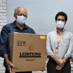 Enfrentamento da Pandemia - uisa doa respiradores para Nova Olímpia e Denise