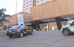Quadrilha que invadiu hotel de luxo em Cuiabá e furtou 6 caminhonetes de hóspedes é presa