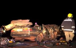 Tangará: acidente entre Corolla e Santana deixa 5 mortos; entre eles, duas crianças de 7 e 5 anos de idade! ATUALIZADA