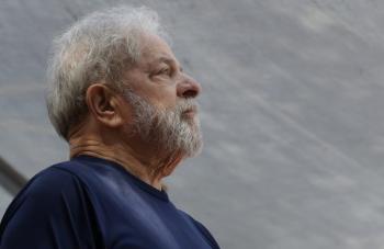 Lula. Foto: AP Photo/Andre Penner