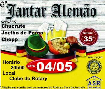 6º Jantar Alemão do Rotary