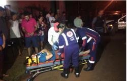 Mulher sofre acidente e vândalos atacam equipe do SAMU na Vila Horizonte