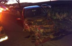 Acidente entre três carros deixa 7 feridos na MT-358 no Distrito de Progresso