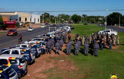 Forças de segurança prendem 385 pessoas no primeiro semestre no Estado