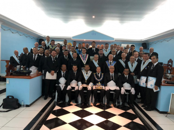 Maçonaria: Guardiões do Olimpo inicia quatro novos membros