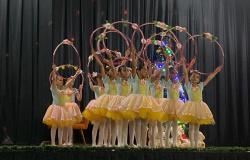 'Quebra Nozes', clássico do ballet, é apresentado pelo Studio Posturale Ballet em Nova Olímpia