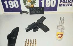 Motorista armado tenta fugir ao avistar barreira sanitária, mas acaba detido em Tangará da Serra