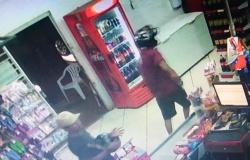 Ladrões armados roubam mercado, mas são surpreendidos por policial em Tangará; um deles é preso