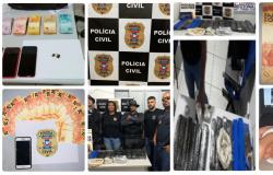 Polícia Civil de Nova Olímpia divulga balanço de suas atividades nos últimos dias