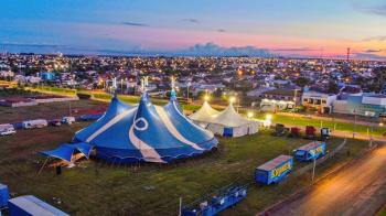 Circo circulou o Brasil e está parado há 2 meses em Tangará da Serra
