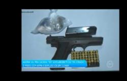 Cantor é preso com explosivos, pistola e drogas em Cuiabá