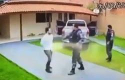 Vídeo mostra tenente da PM agredindo advogado durante abordagem em MT