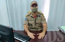 BOMBEIRO MILITAR – Major Guimarães assume 3ª CIBM de Tangará