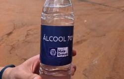 Empresas doam mais de 45 mil litros de álcool 70% para o Governo de MT
