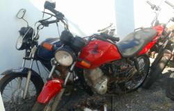Menor é apreendido após furtar uma moto e o motor de outra moto do pátio da Ciretran de Tangará da Serra