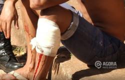 Embriagado, suspeito tenta agredir policial e leva tiro de arma não letal em Tangará da Serra