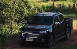 Família é rendida por homem armado na porteira de sítio e tem caminhonete roubada em Tangará da Serra